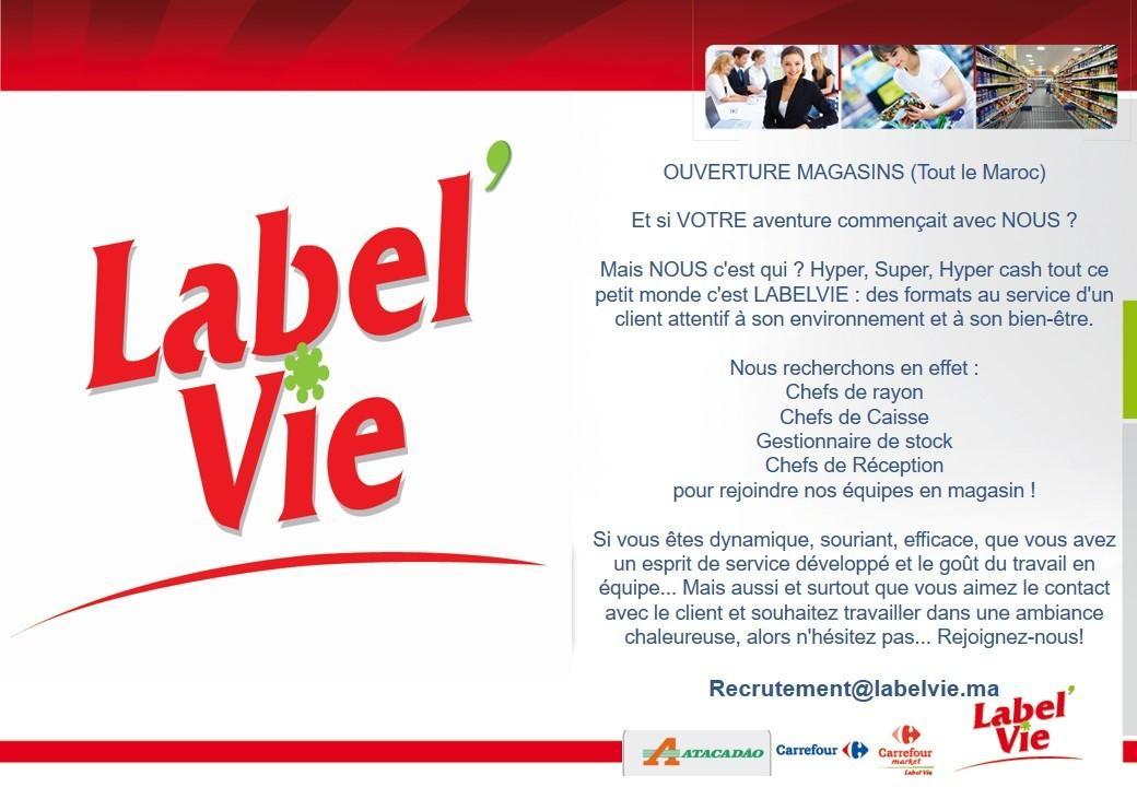 label u2019vie recrute plusieurs profils cdi sur tout le maroc