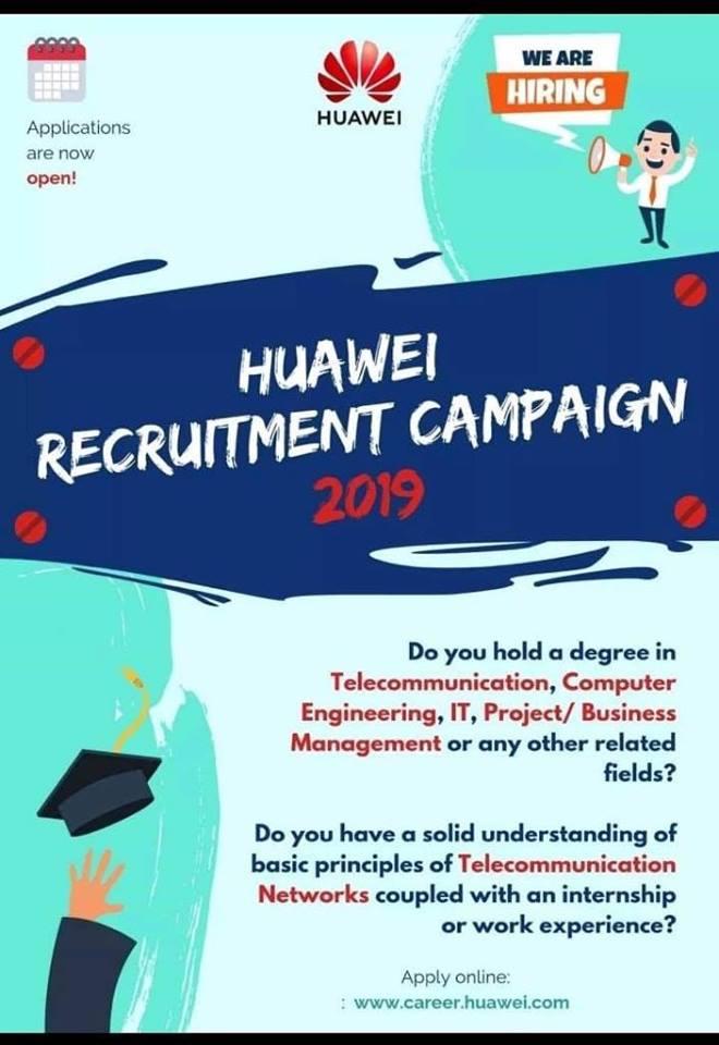 huawei recrutement