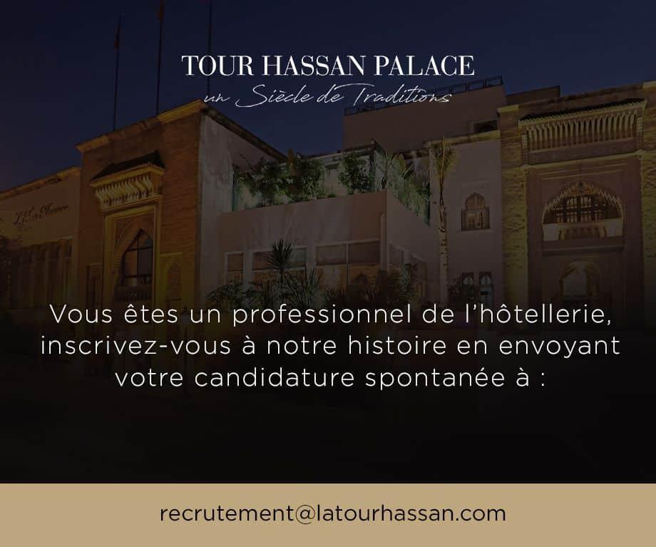 La Tour Hassan Palace Emploi Recrutement
